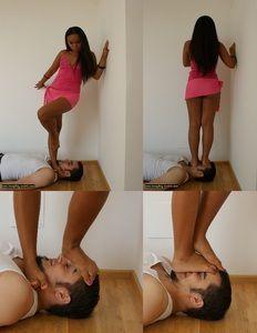 Asain femdom trampling